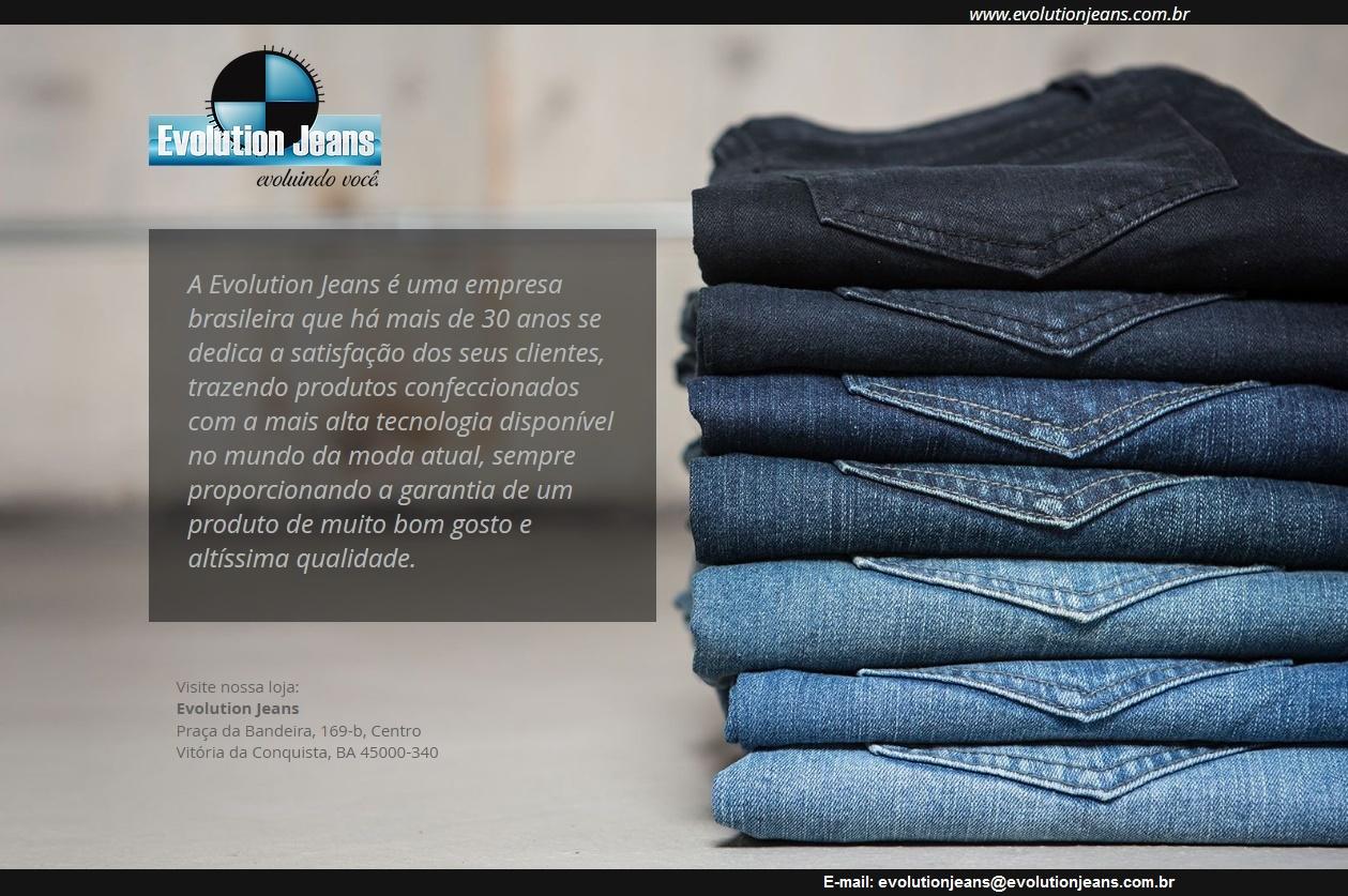 Evolution Jeans  -  Evoluindo você!